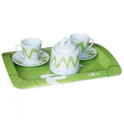 Tete a Tete top moka con Zuccheriera Set