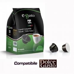 Pop  Caffè E- Gusto 2 cremoso 16 Capsule