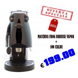 Offerta  Frog  Vapor Didiesse Revolution + 100 Cialde caffè