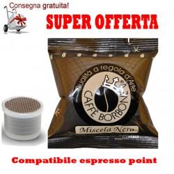 300 capsule espresso point caffè Borbone miscela Nera