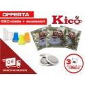 Offerta 450 cialde caffè Kico completo di accessori (bicchierini, zucchero e palettine)