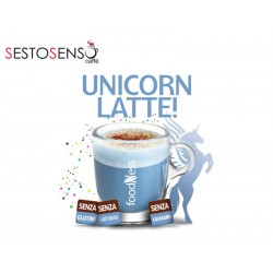 Foodness Unicorn latte all'alga spirulina