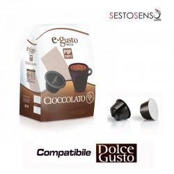 Pop Caffè E-Gusto Cioccolato 16 capsule