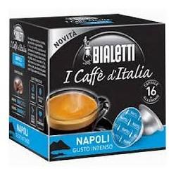 16 Capsule Bialetti Mokespresso Napoli gusto intenso