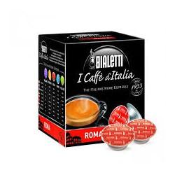 16 Capsule Bialetti Mokespresso Roma gusto forte