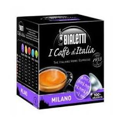 16 Capsule Bialetti Mokespresso Milano gusto morbido