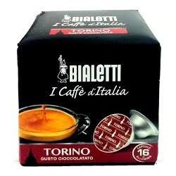 16 Capsule Bialetti Mokespresso Torino gusto cioccolatato