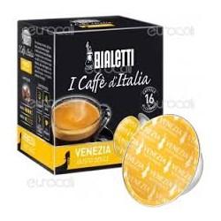 16 Capsule Bialetti Mokespresso Venezia gusto dolce