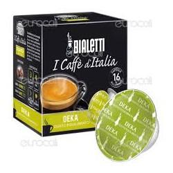 16 Capsule Bialetti Mokespresso Deka
